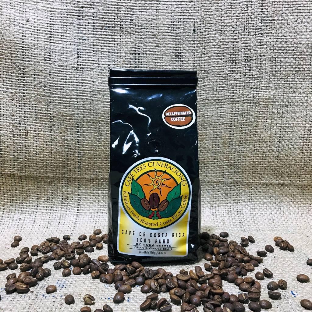 Что из себя представляет кофе без кофеина