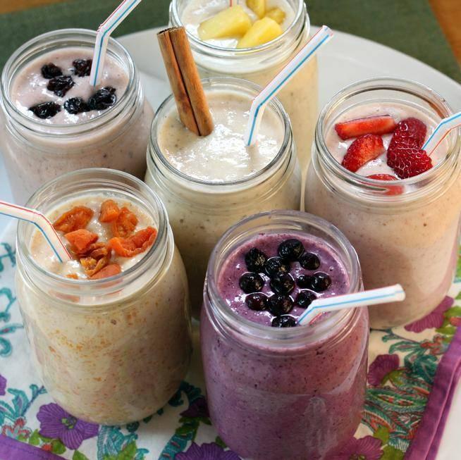Рецепты смузи для похудения в блендере рецепты