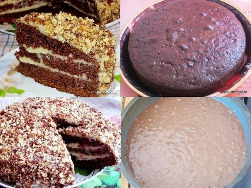 Популярные рецепты шоколадных тортов в домашних условиях
