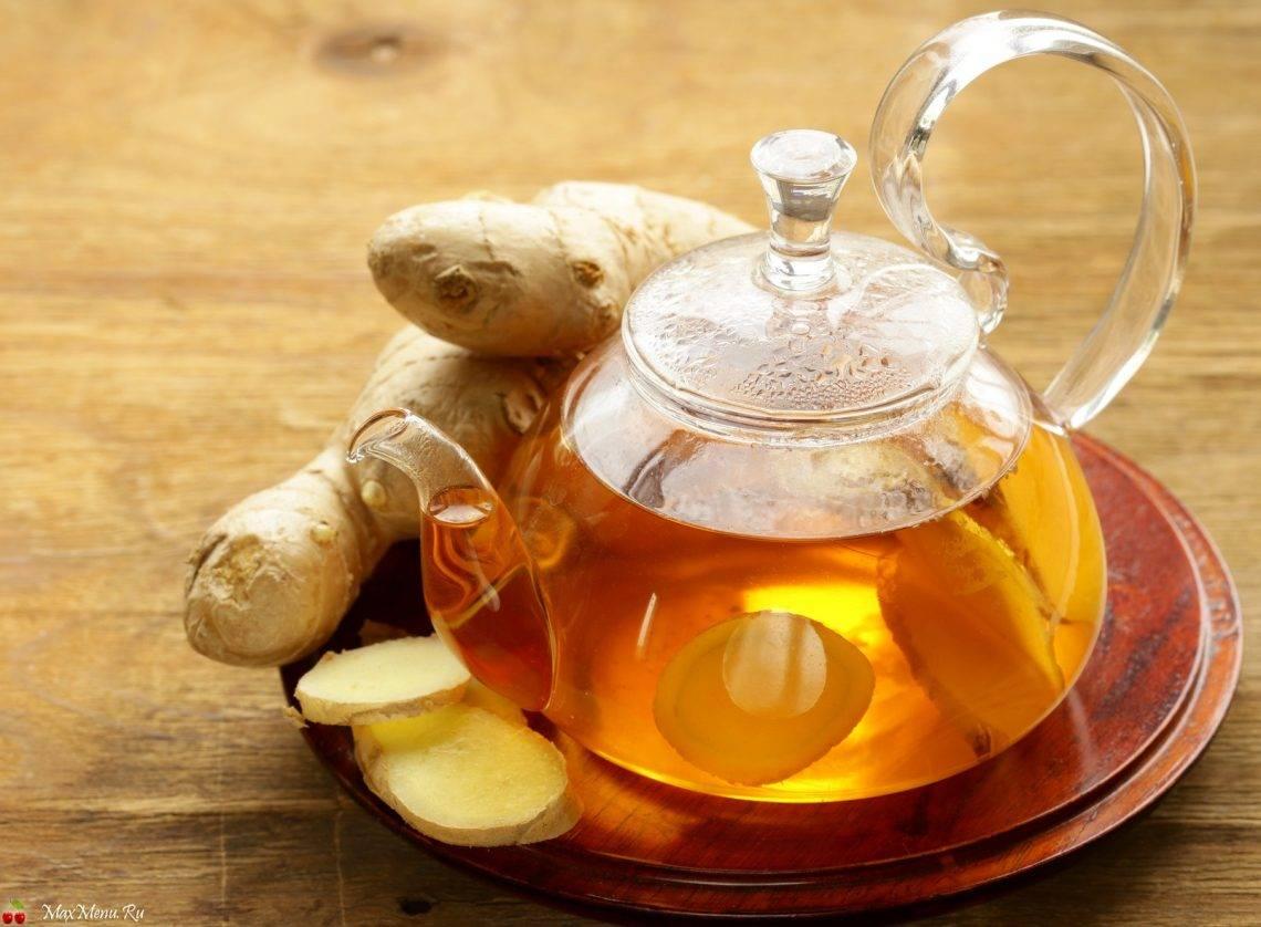 Чай с имбирем - польза и вред. чем полезен чай с имбирем