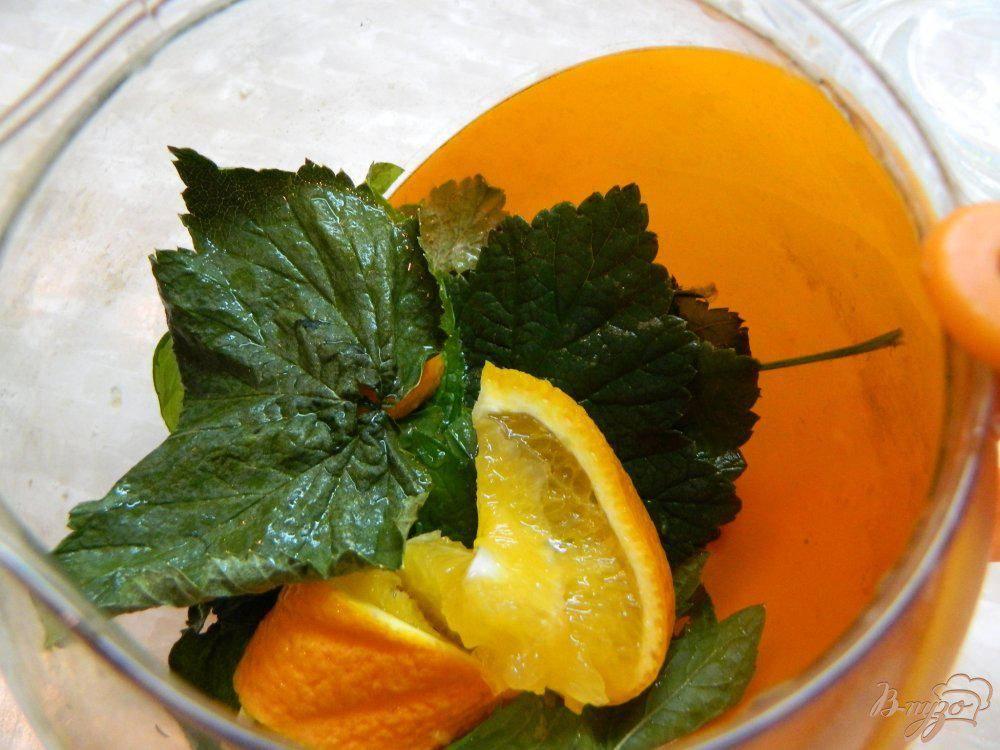 Смородиновый чай - завариваем листья и ягоды - целебные травы