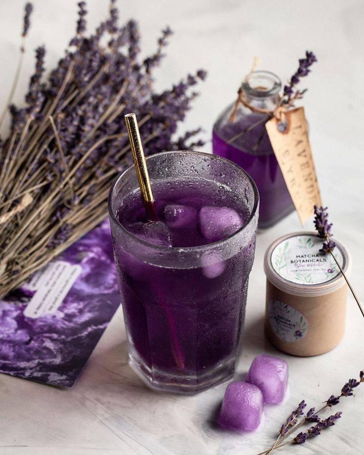 Чай с лавандой: польза и вред