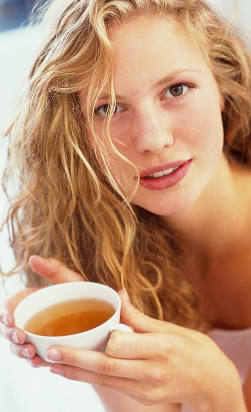 Маска для волос и ополаскивание с чаем: черный, зеленый, красный чай для волос   волосок