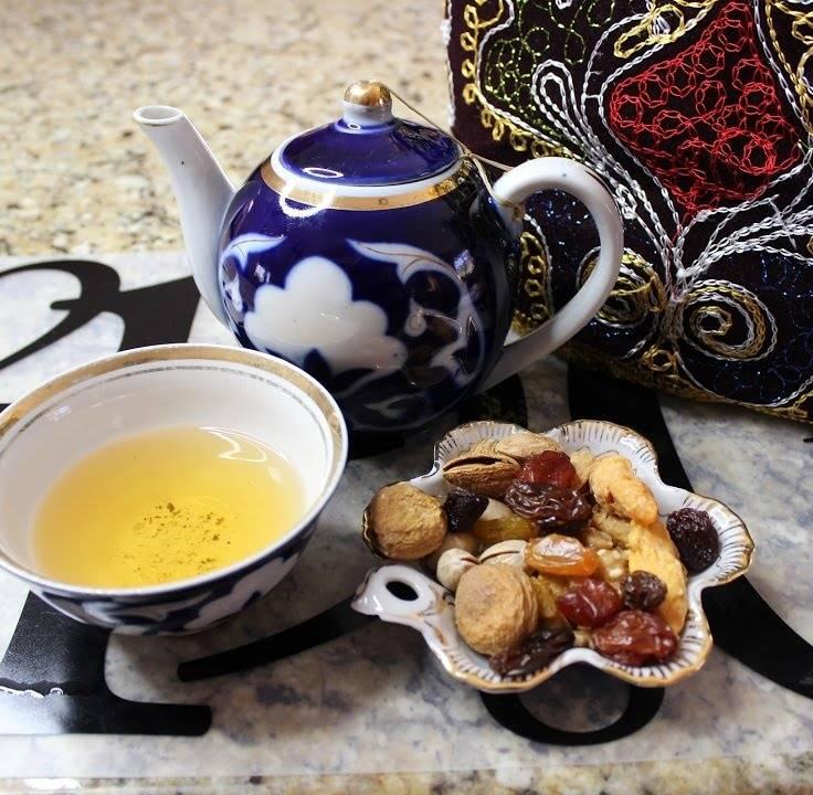 Узбекский зеленый чай №95 и №110 - польза, рецепты