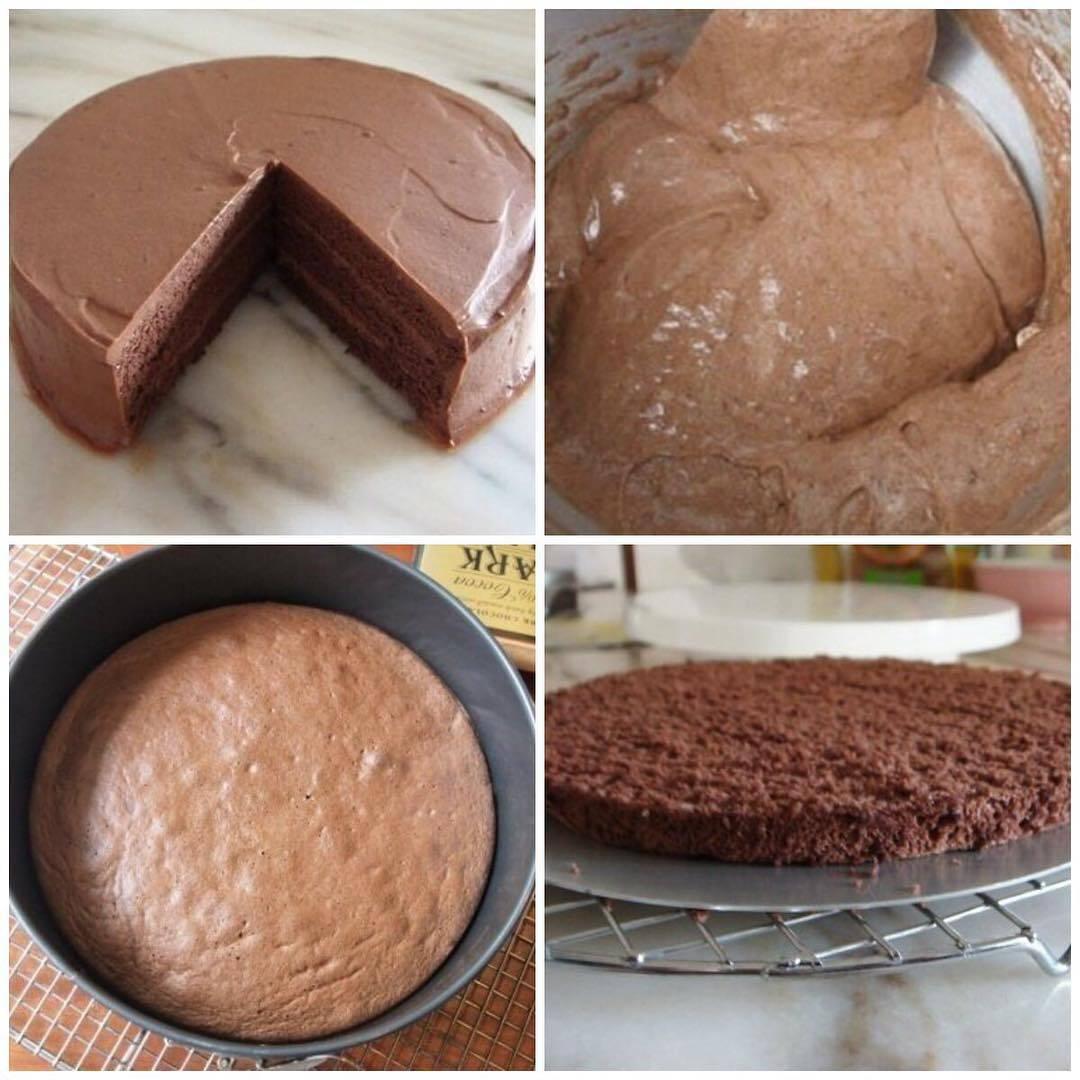 Бисквит с шоколадом: домашние рецепты
