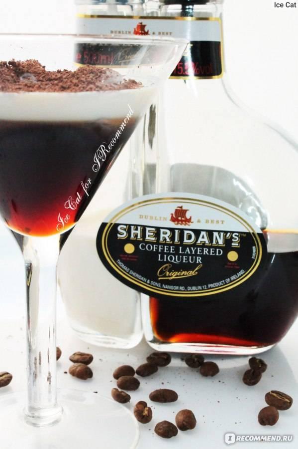 С чем пьют кофейный ликер двухслойный шериданс, калуа и другие