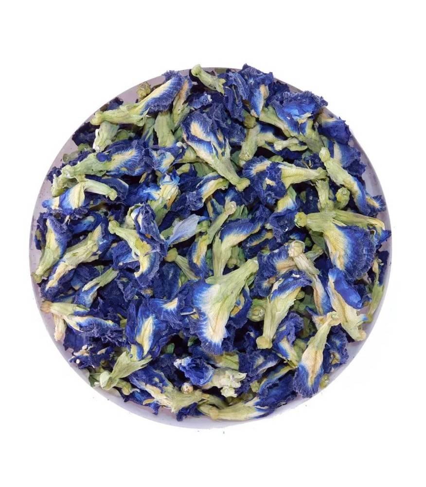 Чем полезен синий чай из таиланда