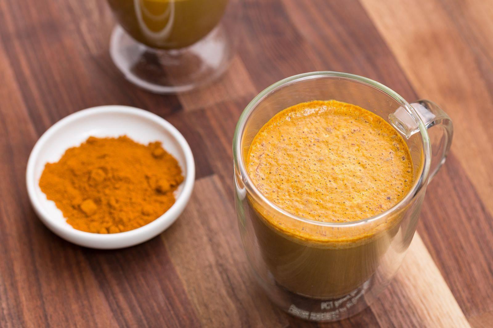 Кофе с куркумой, польза и вред данного напитка, рецепты