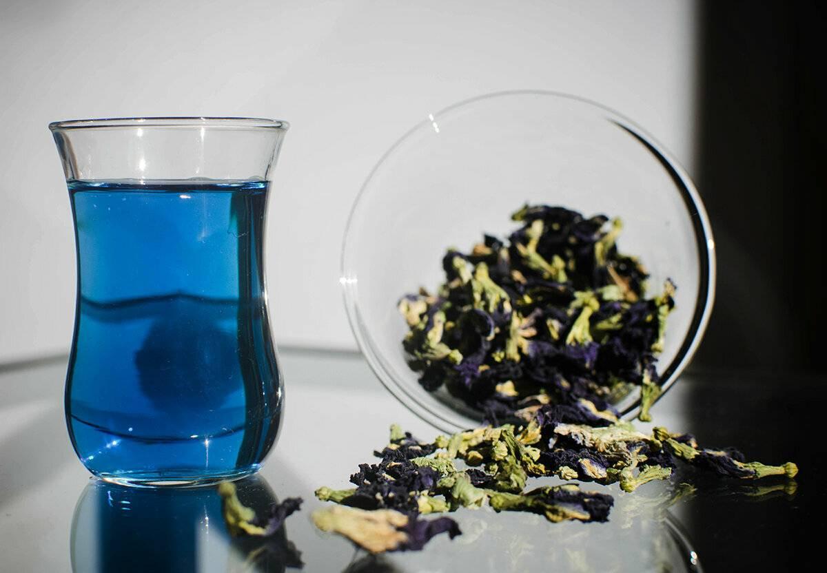 Анчан — синий чай из таиланда