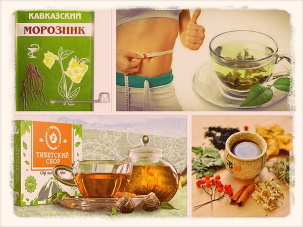 Травы для похудения сжигающие жир: 10 эффективных трав для борьбы с лишним весом