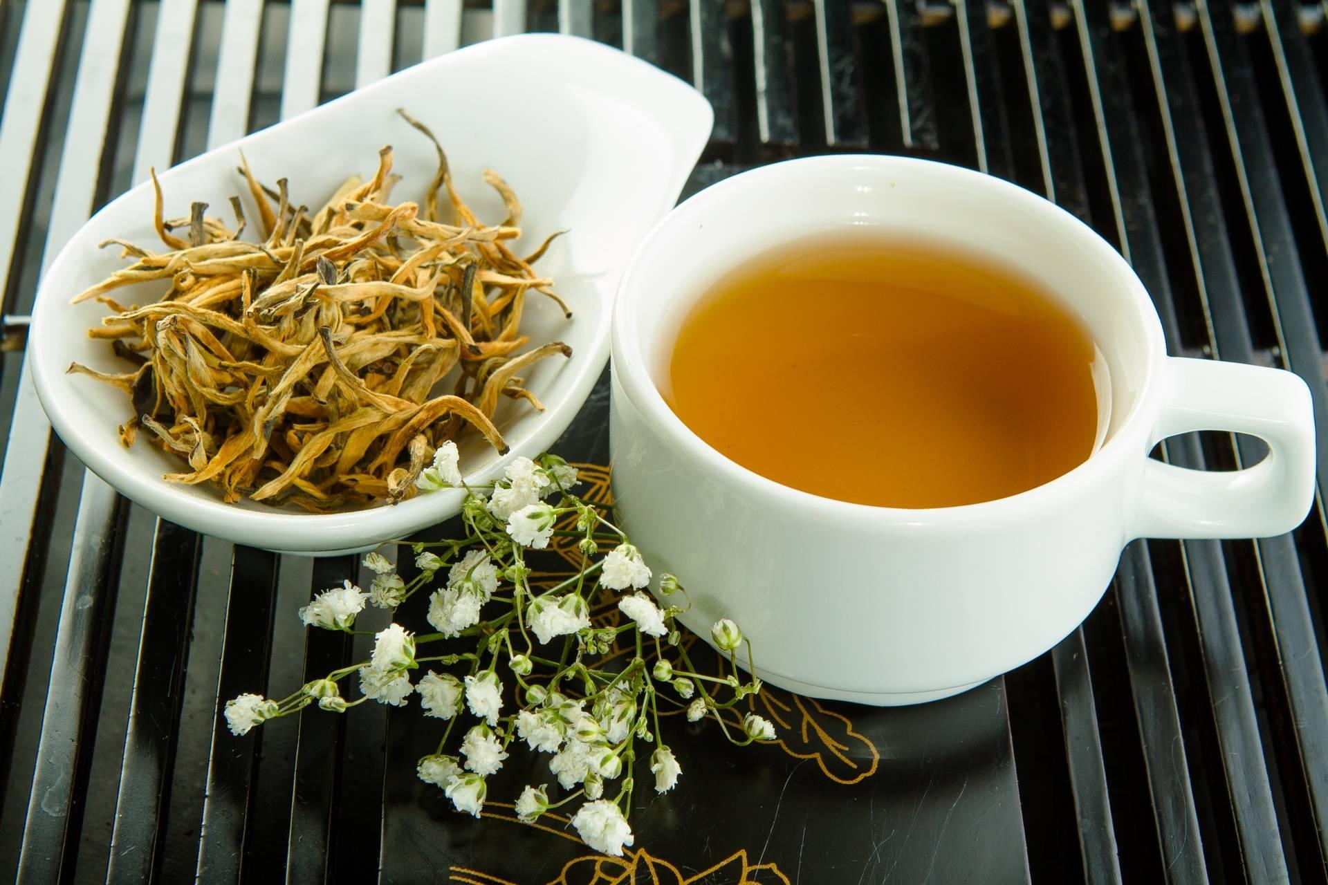 Чай дянь хун цзинь хао (золотая обезьяна)