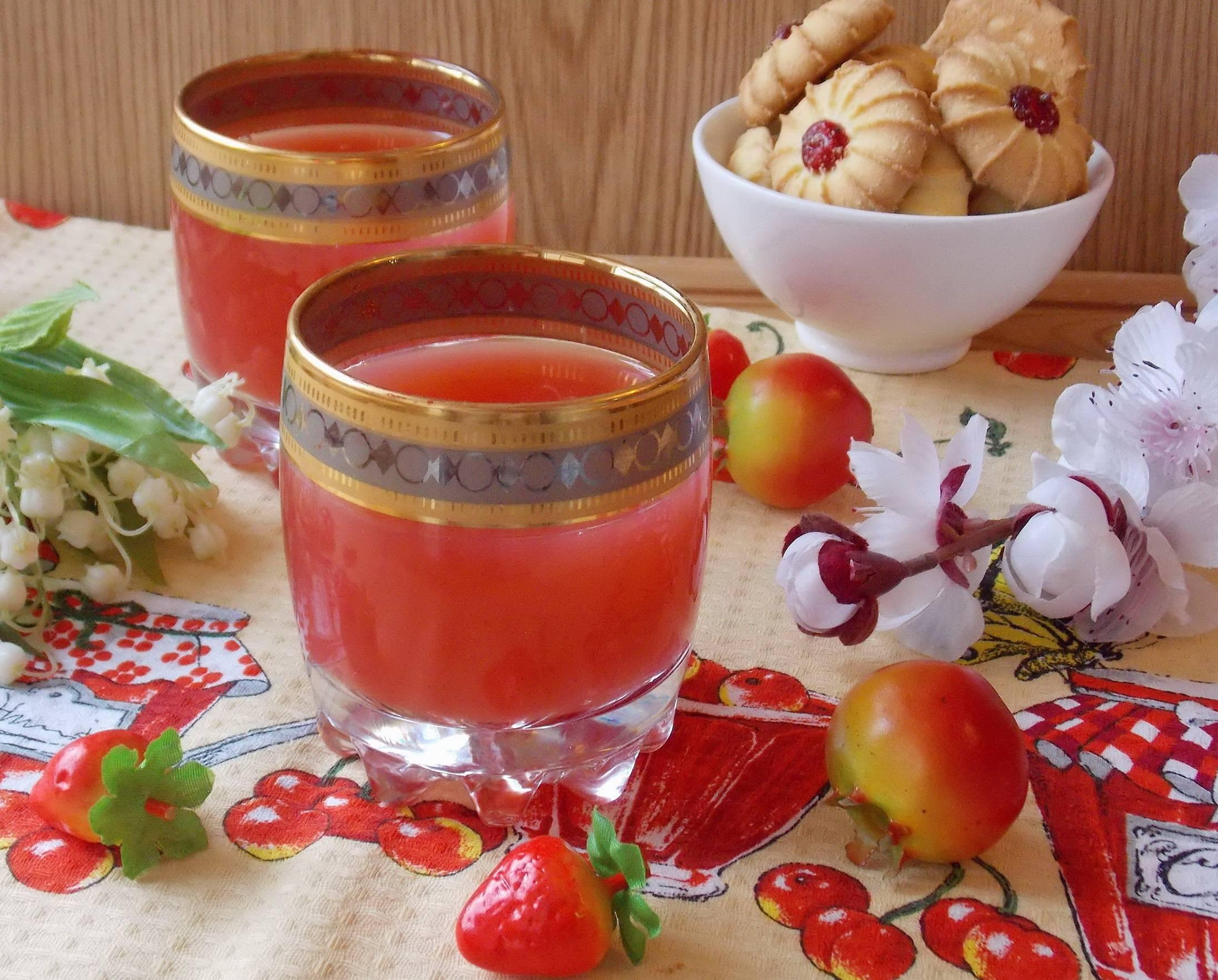Кисель из брусники (замороженной и свежей), рецепты брусничного напитка