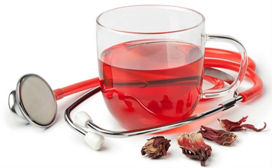 Чай каркаде повышает или понижает давление, как заваривать
