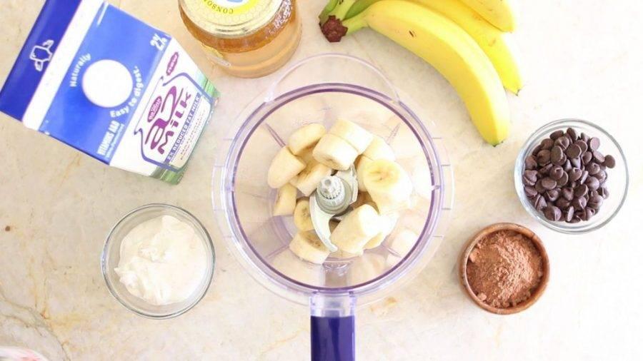 Как приготовить вкусный и полезный смузи из банана