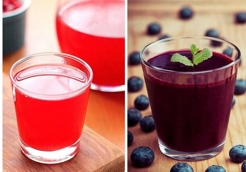 Кисель из замороженных ягод и крахмала — 7 рецептов в домашних условиях