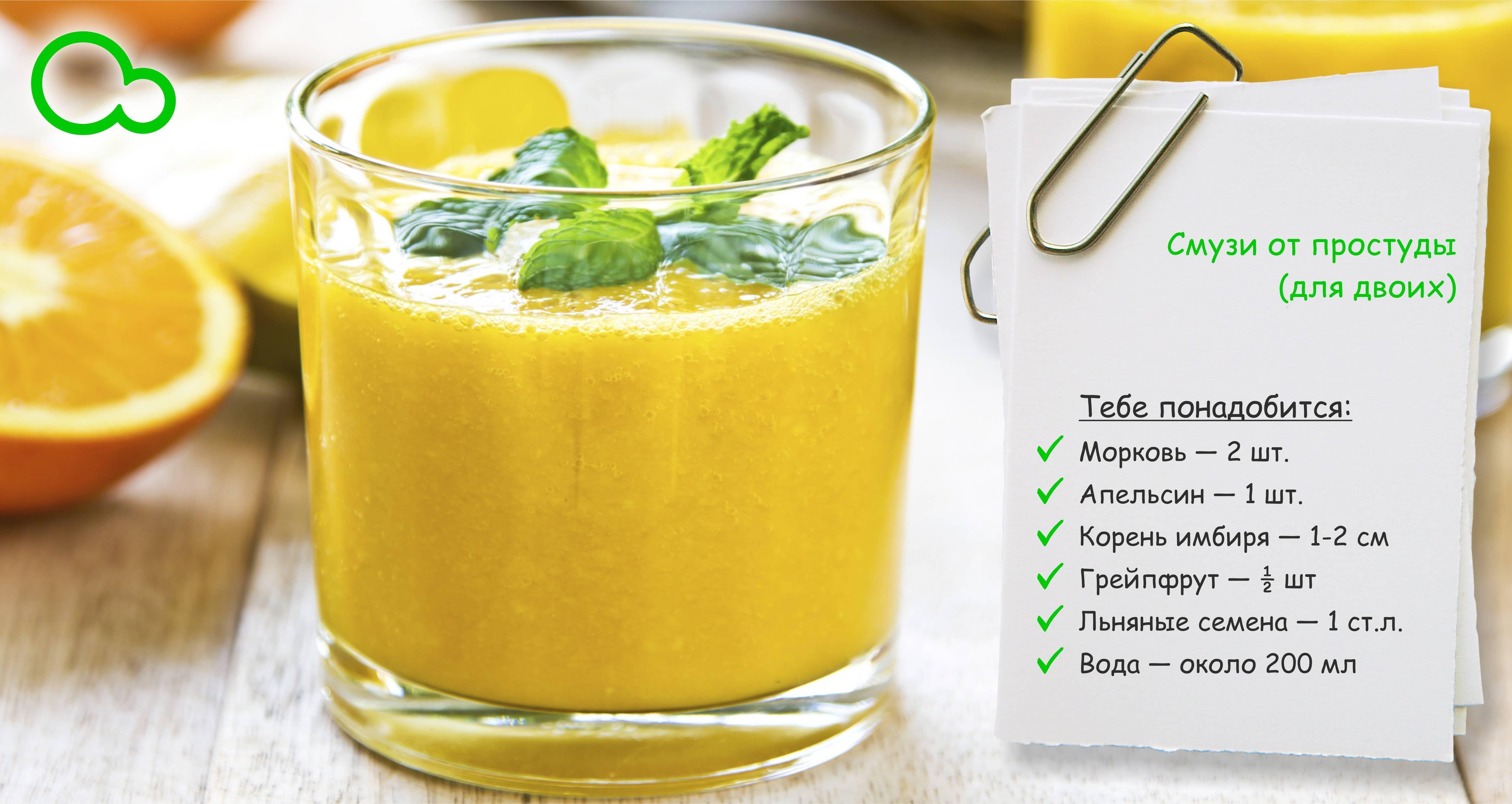 Смузи: рецепты для блендера с фото