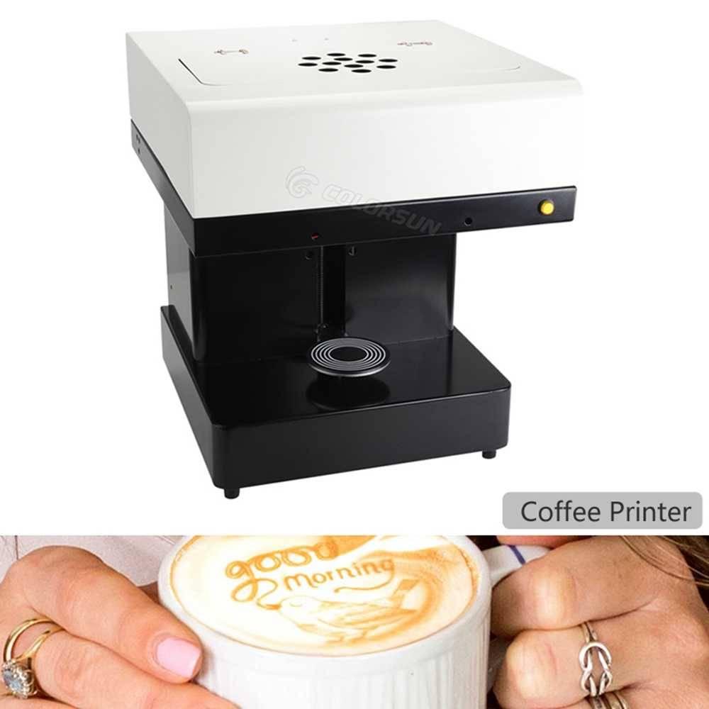 Кофе-принтеры: выбираем кофемашины для печати на пенке. как работает фотопринтер для кофе?