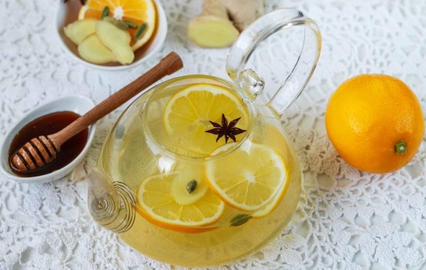 Чай с апельсином:рецепты, свойства, как заваривать - чайгик