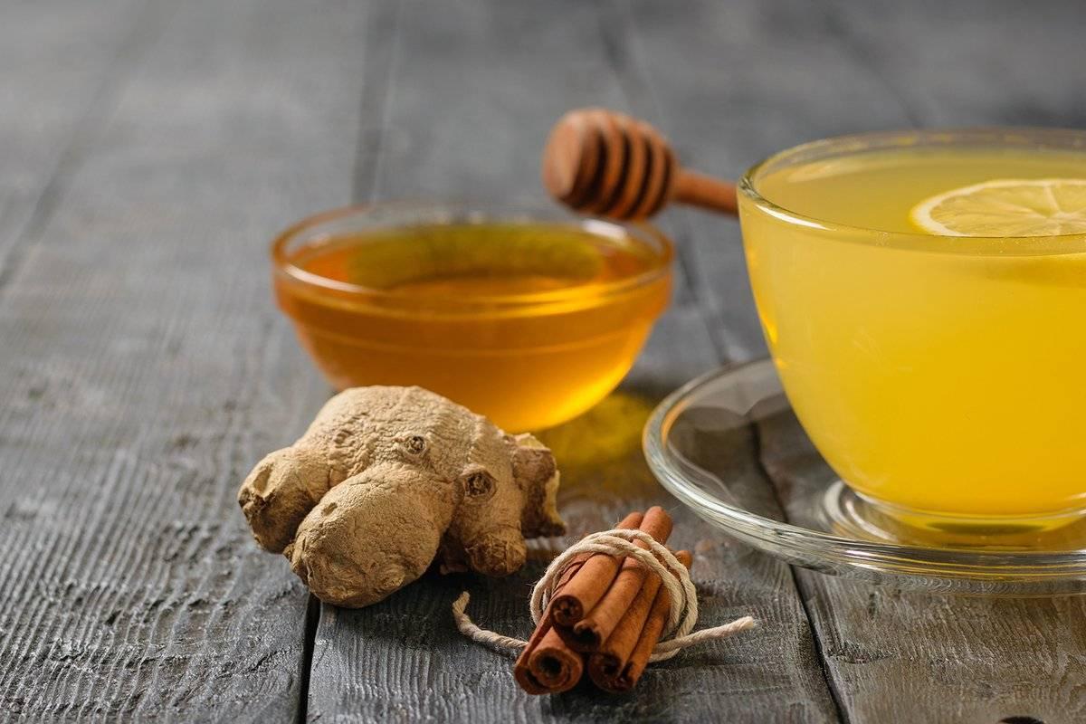 Имбирный чай с лимоном и медом - рецепт вкусного напитка