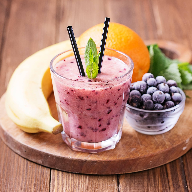Смузи из замороженных ягод— витаминный фейерверк зимой