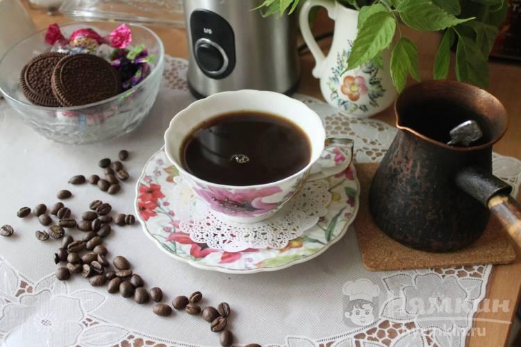 Рецепты классического черного кофе и с добавками