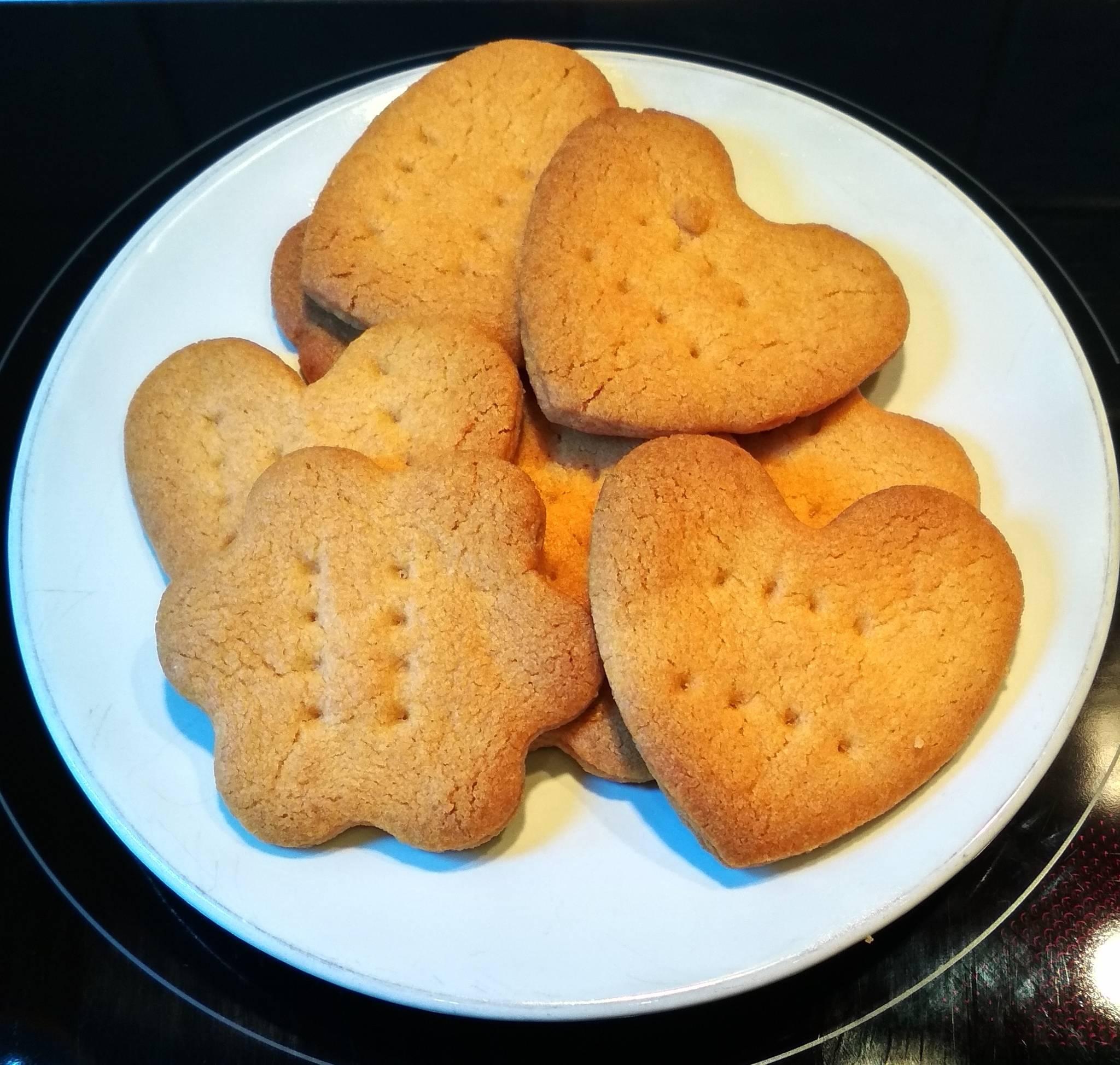 Простое печенье к чаю