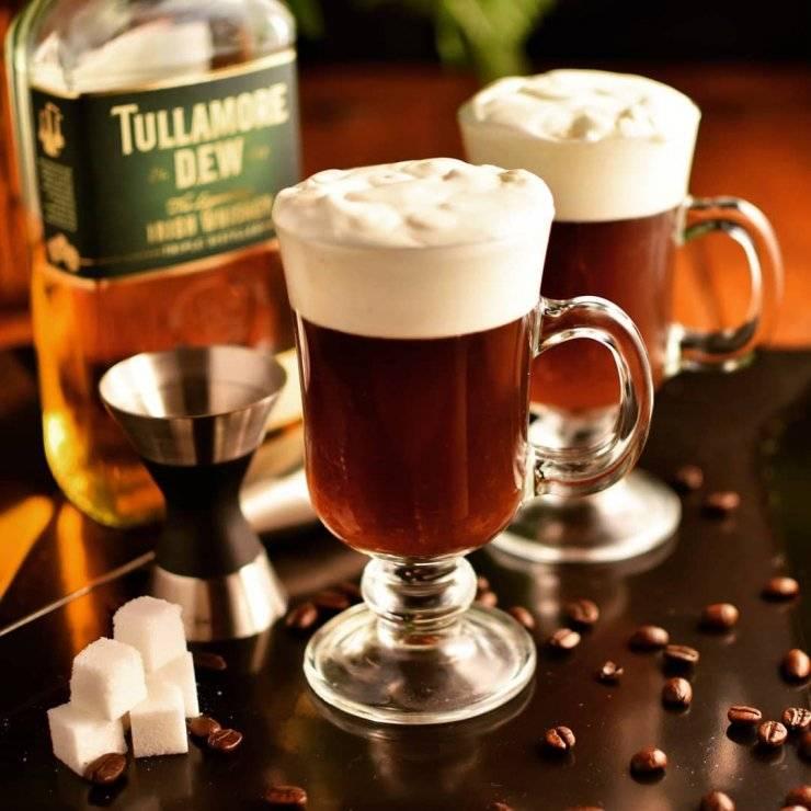 Ирландский кофе (irish coffee)