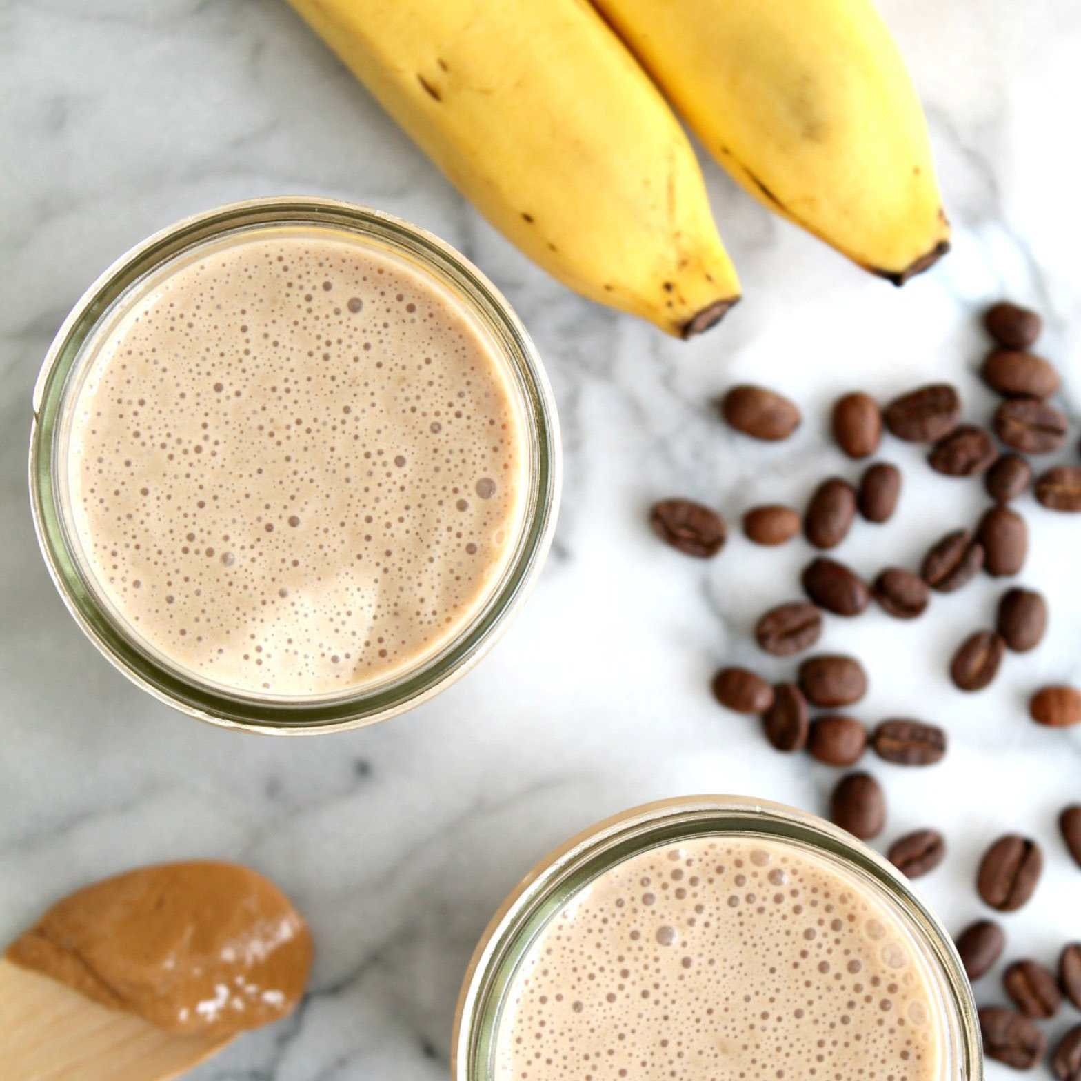 Кофе с бананом   рецепты кофе