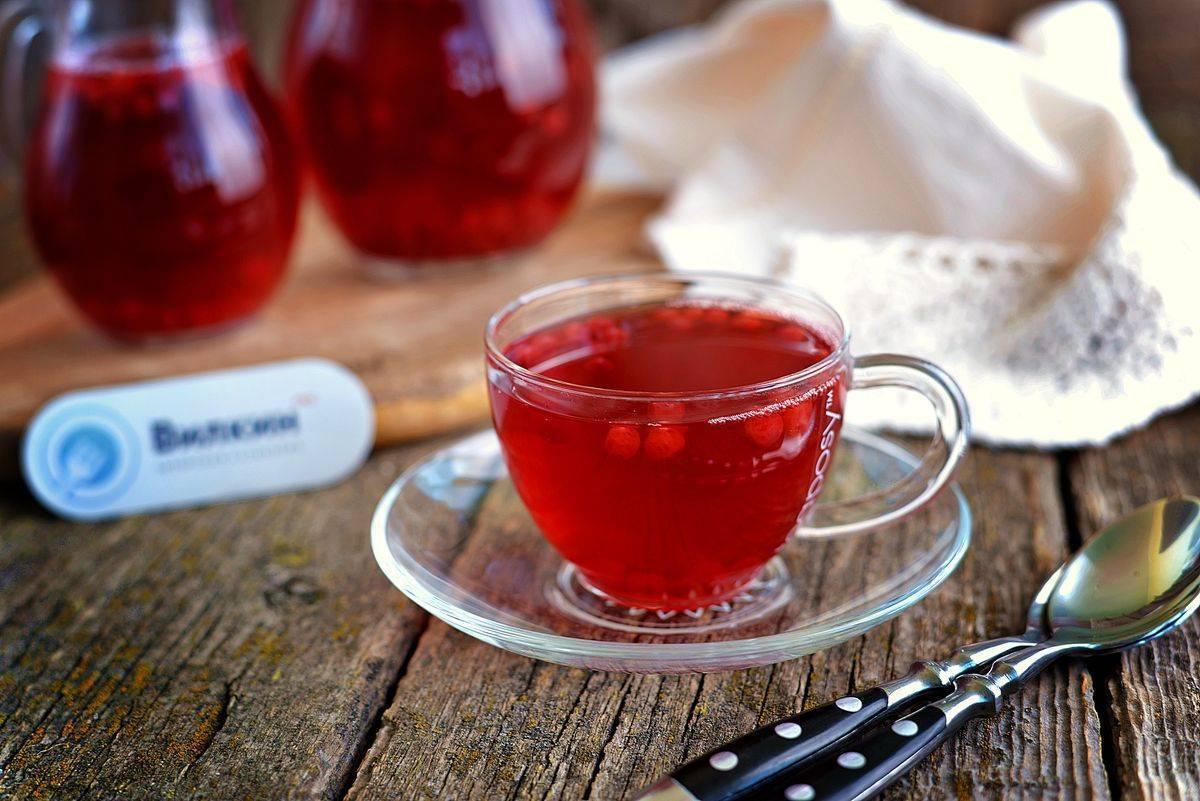Компот из клюквы (свежей, замороженной): рецепты с фото