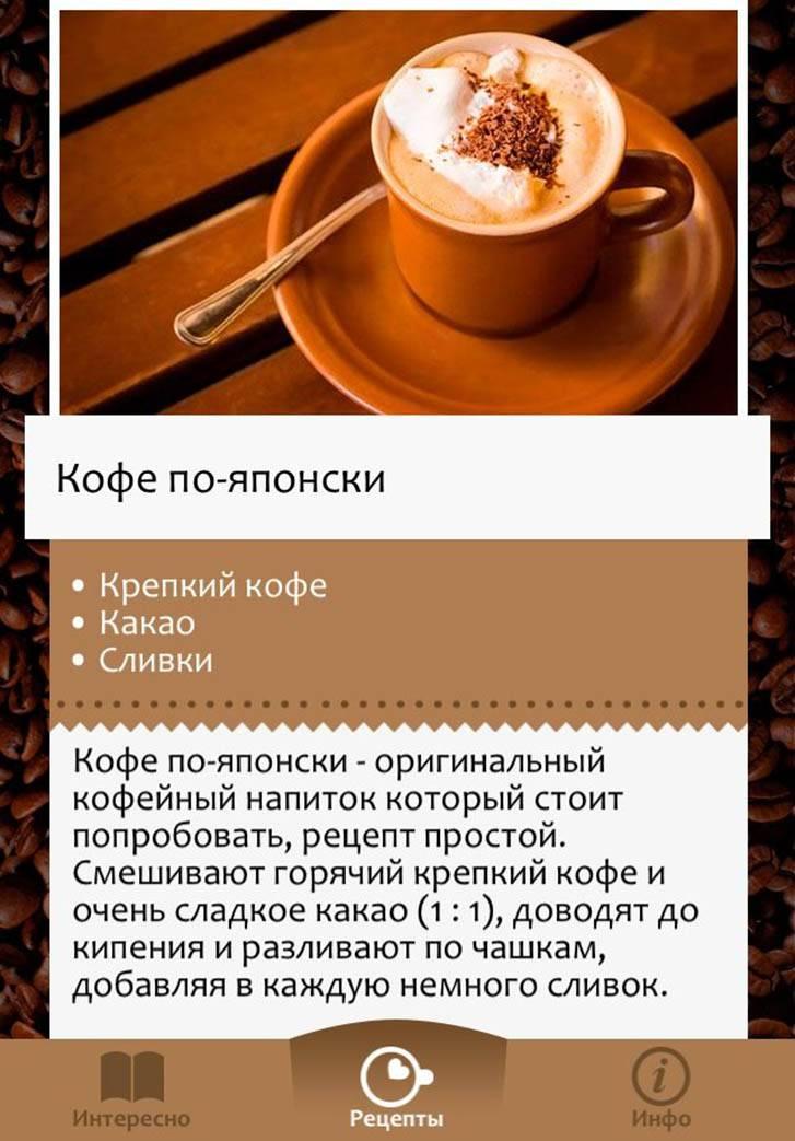 Рецепты кофе для бариста
