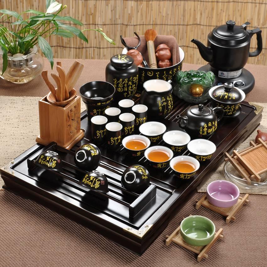 Как пьют чай в японии и что подают к столу