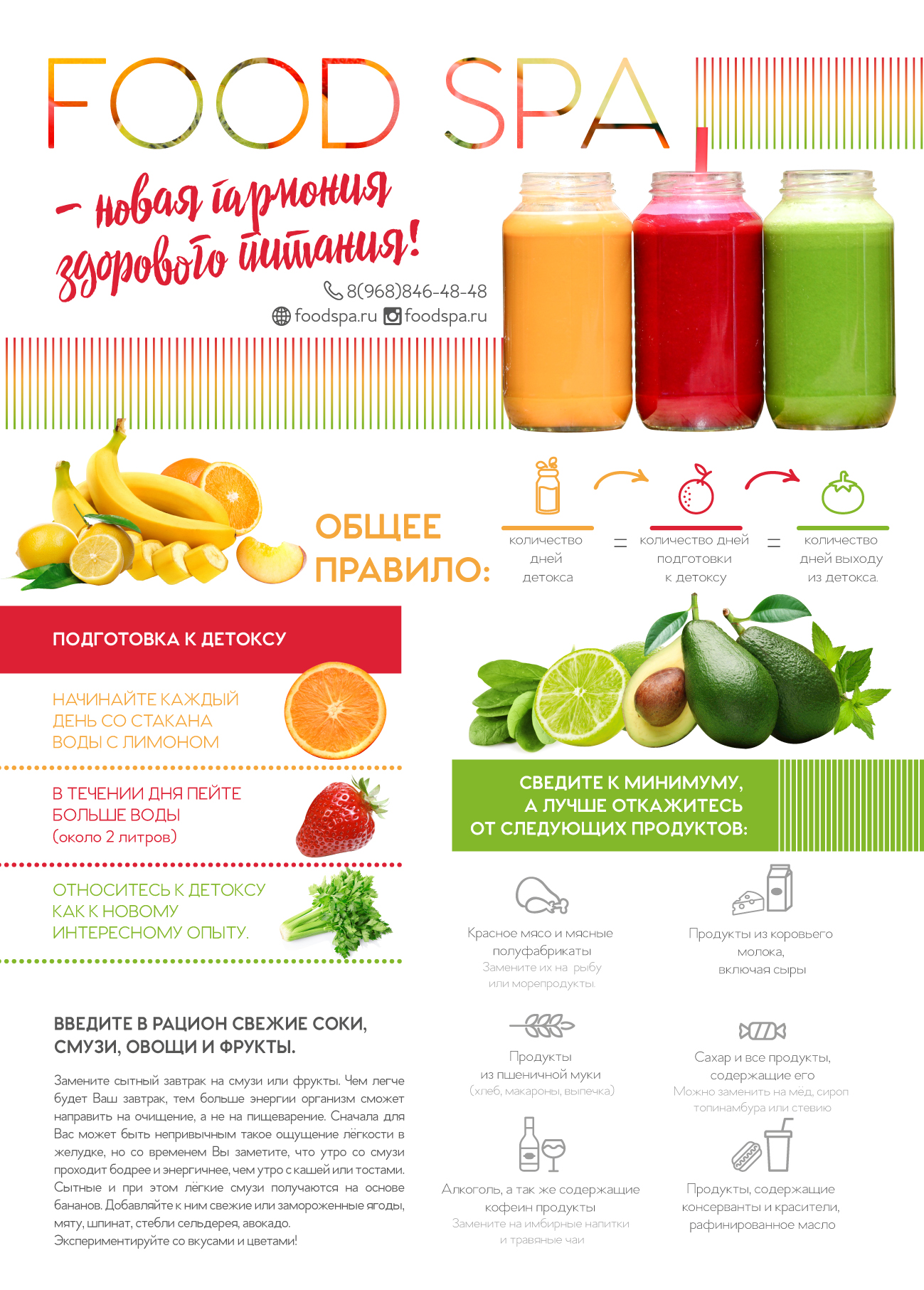 10 рецептов зеленых детокс-смузи, которые помогут очистить организм :: инфониак