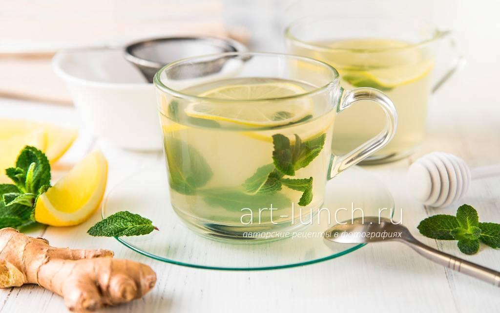 Имбирный чай при простуде
