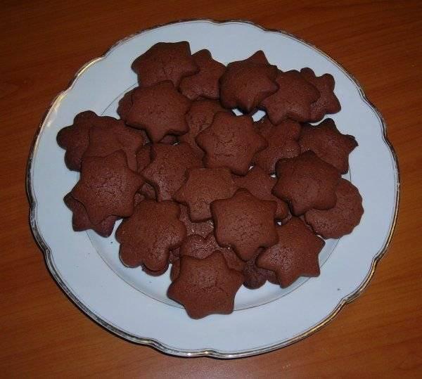 Шоколадное печенье: простые рецепты с какао