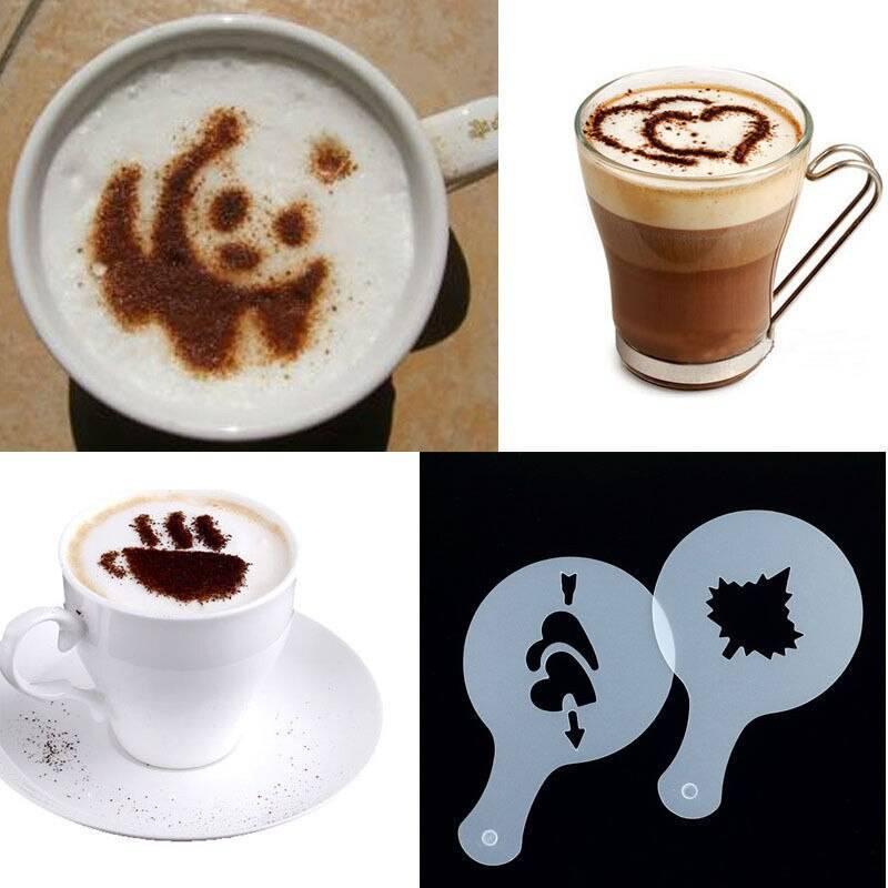 Как сделать рисунок на кофе - пробуем рисовать в домашних условиях