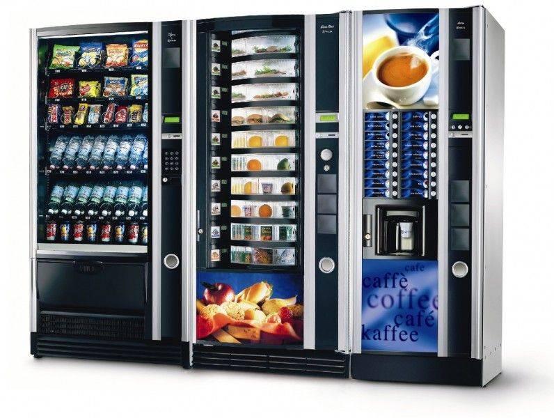 Торговые автоматы вендинг: история, плюсы и минусы, правила выбора