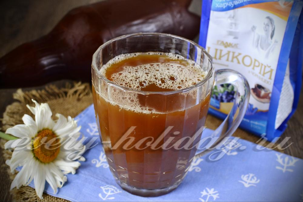 Квас из цикория в домашних условиях - рецепт на 5 литров