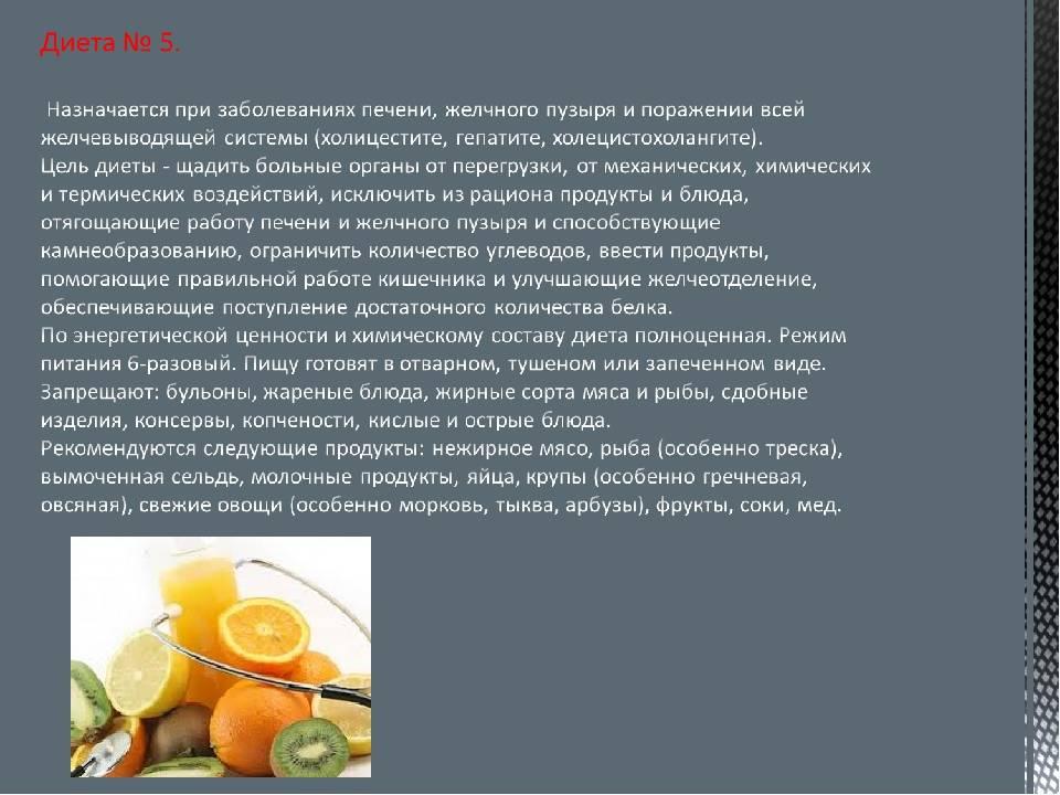 Диета при холецистите желчного пузыря – принципы, разрешенные и запрещенные продукты, меню на неделю