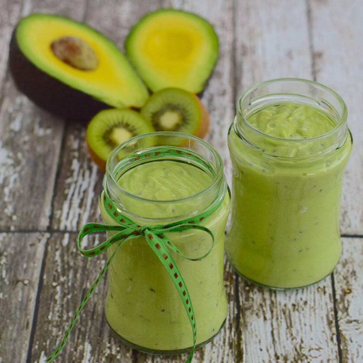 Смузи с авокадо