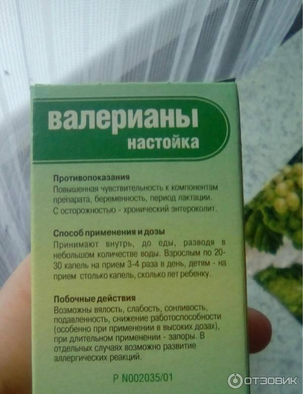 Валериана лекарственная - отвар и настойка