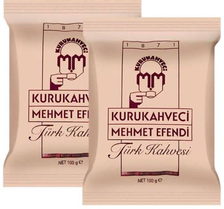 Кофе молотый mehmet efendi kurukahveci turk kahvesi