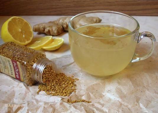 Желтый чай хельба (чай с пажитником) полезные свойства