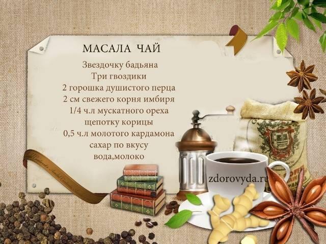 Чай масала с молоком