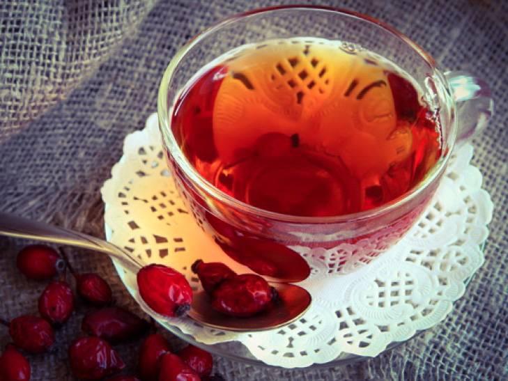 Чай из шиповника - целебные травы