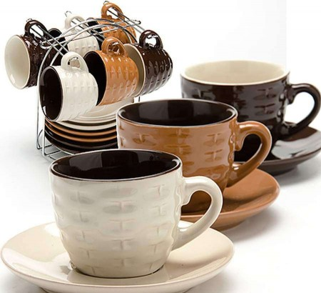 Кружка (чашка, стакан) кофе: капучино, латте, эспрессо