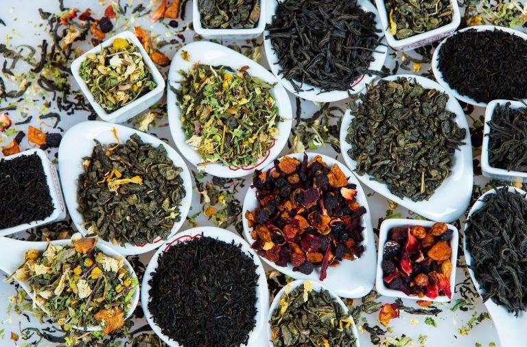 Какие травы собирают для чая и сушат на зиму