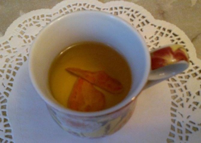 Крепкий чай с медом от диареи