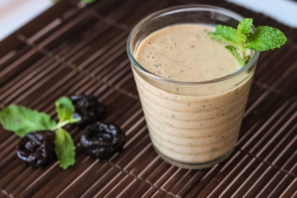 Рецепты смузи с черносливом для похудения и вкусного перекуса
