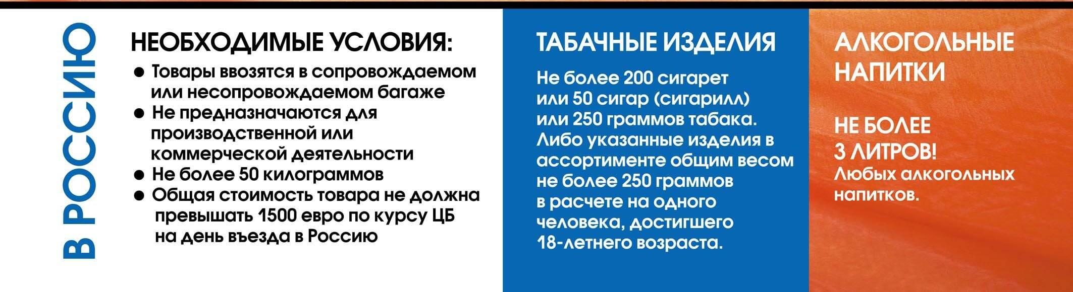 Ввоз сигарет в россию: правила и нормы для багажа и ручной клади