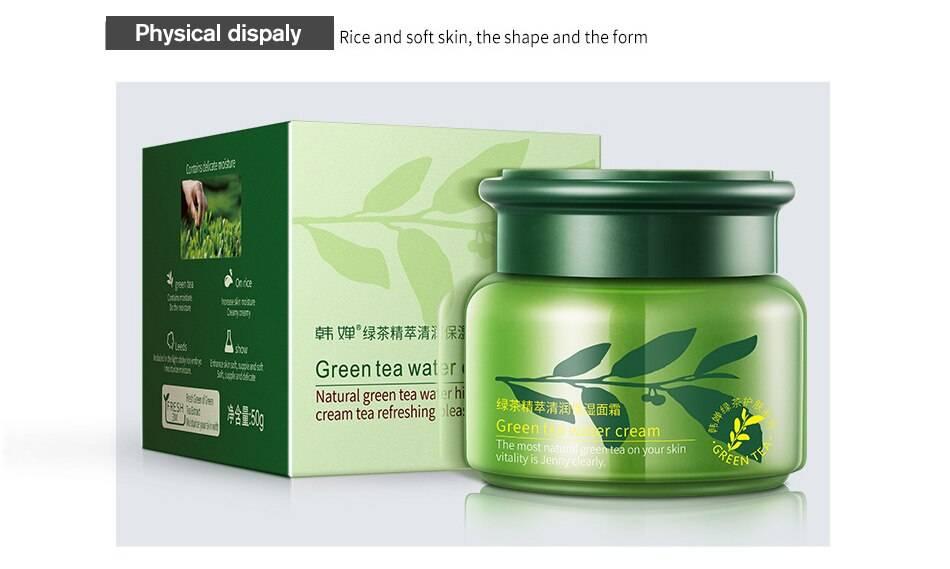 Польза зелёного чая для кожи